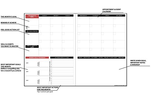 Freedom Mastery Law of Attraction Goal Planner & Organizer by Freedom Mastery (Image #3)