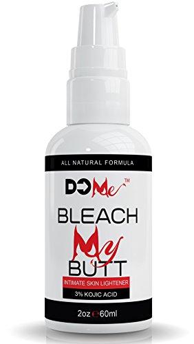 Nouveau! Prime intime crème de blanchiment - Bleach mon Butt - formule de blanchiment naturel tout - l'acide kojique 3 % rose votre clin d'oeil (2oz)