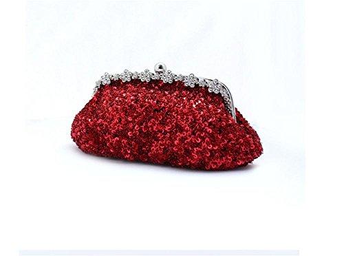 La Bolsas Garras Nueva Novia Lentejuelas Bolsos Artificiales Moda Rojos De Bolsas De Bolsos De De Boda Cadena De Noche De Bao Bolsas La De Diamantes De Bolsas 7xvnYnd
