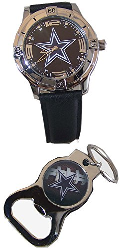 (Avon Dallas Cowboys Watch and Bottle Opener Key Chain Gift Set)