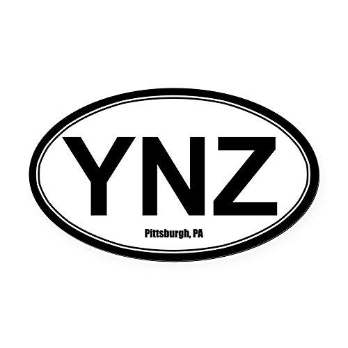 CafePress - YNZ Oval Car Magnet Bumper Sticker at Steeler Mania