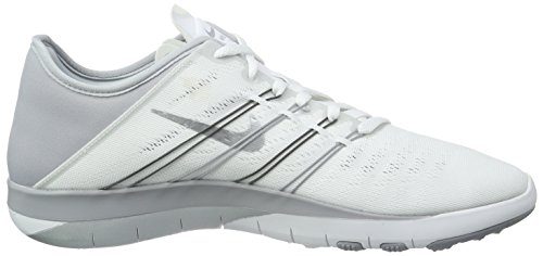 Nike Damer Fri Trainer 6 Hall Sko Hvid (hvid / Metallisk Sølv-grå Wlf) MHPYQuOs