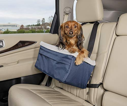 PetSafe Solvit Booster Seat - Pet Booster Seat for Cars, Trucks, SUVs - Medium