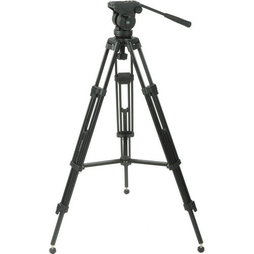 Magnus VT-3000 Professional High Performance Tripod System with Fluid Head by Magnus