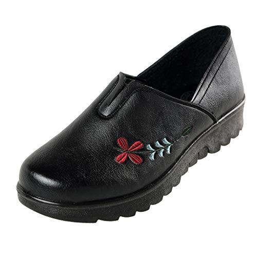 Bordado Suave 35 41 Negro Zapatos Marrón Mujeres Los En Casuales Popular Del Damas negro Mariposa Las 2019 Pisos De Gamuza Rojo Deslizamiento a0qwfnPx