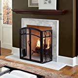 Charlotte 60-Inch Wood Fireplace Mantel Shelf