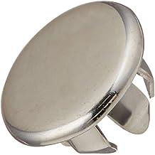 Delta Faucet RP6068 Plug Button Two Handle Bathroom Escutcheon, Chrome