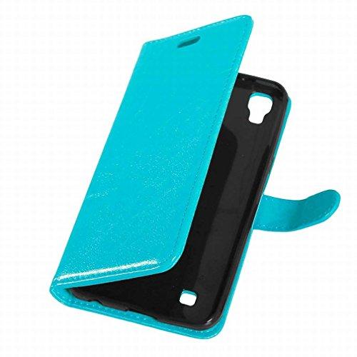 Yiizy LG X Power K220 LS755 US610 K450 Funda, Bastidor Diseño Solapa Flip Billetera Carcasa Tapa Estuches Premium PU Cuero Cover Cáscara Bumper Protector Slim Piel Shell Case Stand Ranura para Tarjeta