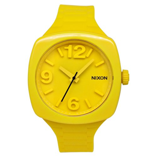 NIXON Women's A265-639 Plastic Analog Yellow Dial Watch (Womens Yellow Dial)