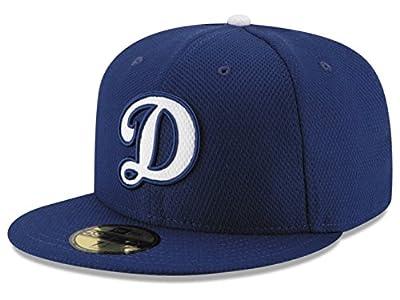"Los Angeles Dodgers Diamond Era ""D"" Logo Fitted 7 1/2 Cap Hat"