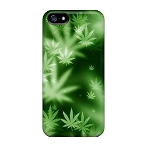 Iphone 5/5s Case Bumper Tpu Skin Cover For Weed Accessories