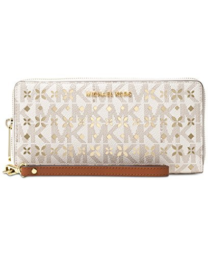michael-jet-set-travel-large-travel-continental-wallet-flora-perforated-vanilla