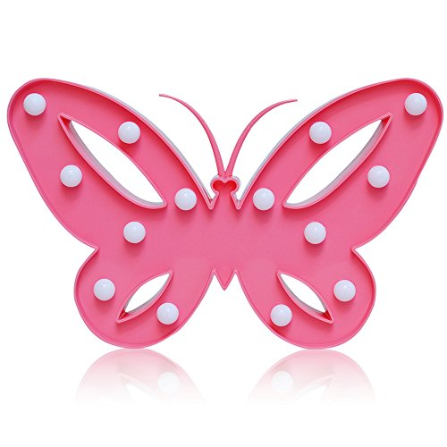 Pink Butterfly Led Lights