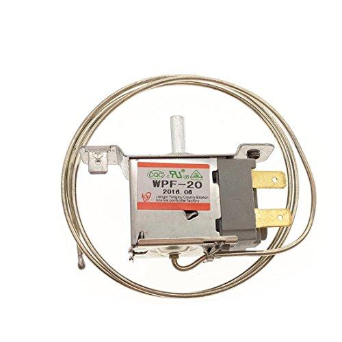 Saim AC 220V 6A WPF-20 Freezer Refrigerator Thermostat Terminal 2 Pin