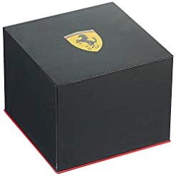 Scuderia Ferrari Homme Chronographe Quartz Montre avec Bracelet en Acier Inoxydable 830720 7