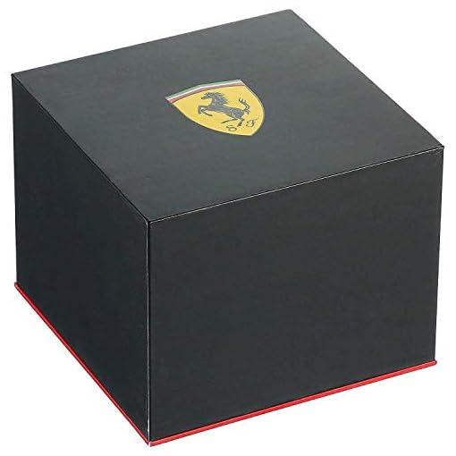 Scuderia Ferrari Homme Chronographe Quartz Montre avec Bracelet en Acier Inoxydable 830720 4