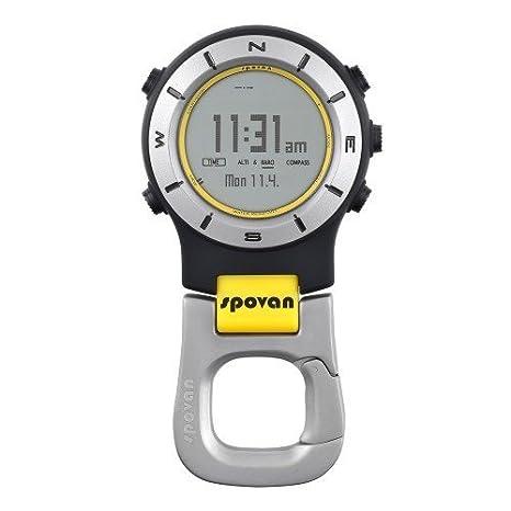 ELEMENTUM II Digital Brújula, altímetro, barómetro y actividad Reloj para deportes por Home Care Wholesale®: Amazon.es: Deportes y aire libre