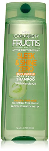 Garnier Hair Care Fructis Sleek and Shine Zero Shampoo, 12.5 Fluid Ounce