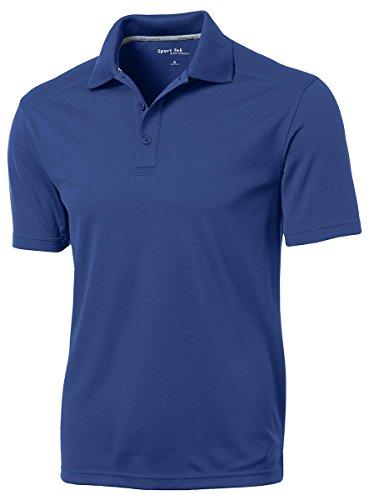 Sport Tek Mesh Shirt (Sport-Tek Men's PosiCharge Micro Mesh Polo 3XL True Royal)