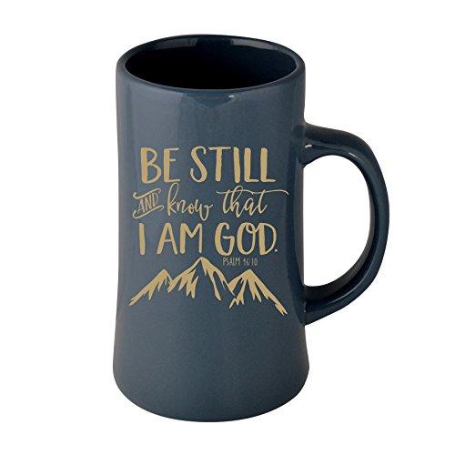 (James Lawrence Be Still and Know That I Am God. Psalm 46:10 Mackinac Designer 13 oz Ceramic Mug )