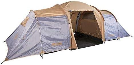 COLUMBUS Tienda de Campaña INARI 8 | Tienda de Camping Familiar para 8 Personas con 2 Habitaciones y Amplia Zona de Estar. Tienda Grande e Impermeable ...