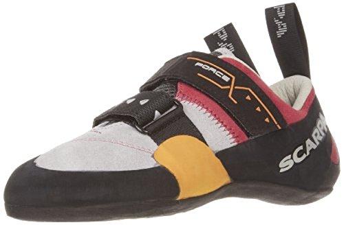 Scarpa Women's Force X Climbing Shoes Lip Gloss 38 & Etip Lite Gripper Glove Bundle by SCARPA