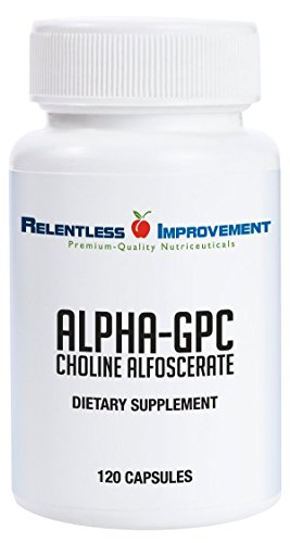 Relentless Improvement Alpha GPC 120 Capsules | NO FILLERS | NO SOY