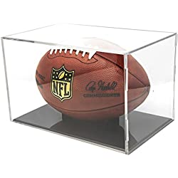 BallQube UV Grandstand Football Display Black Base