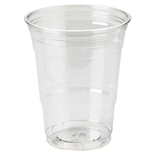 Dixie Crystal Clear Plastic Cups, 16 Oz, Box of 500 Cups ()