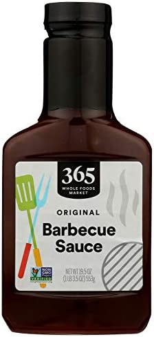 365 by Whole Foods Market, Barbecue Sauce, Original, 19.5 Ounce