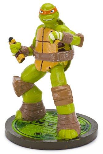 Penn-Plax Teenage Mutant Ninja Turtles Michelangelo Aquarium Ornament, Mini by Penn Plax