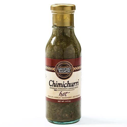 Gauco Ranch Hot Chimichurri Sauce - 12.5 ounce by Gaucho Ranch