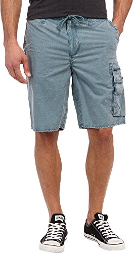 Volcom Men's Rigamarole Cargo Short Used Blue Shorts 38