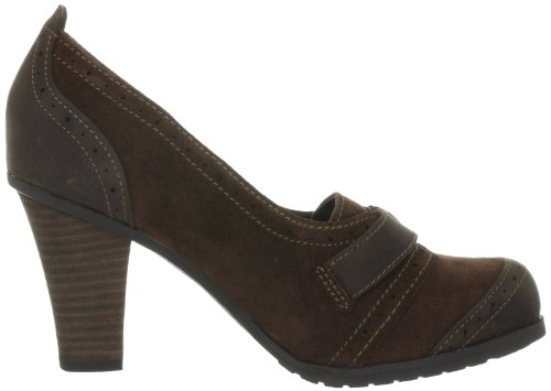 Timberland EK WINGATE BKL LFR BLACK 3748R Damen Klassische Pumps Braun (Dark Brown Suede)