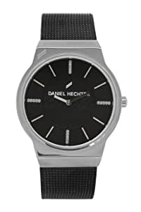 Daniel Hechter Women`s Black Dial Leather Band Watch [DHD 001/AM]