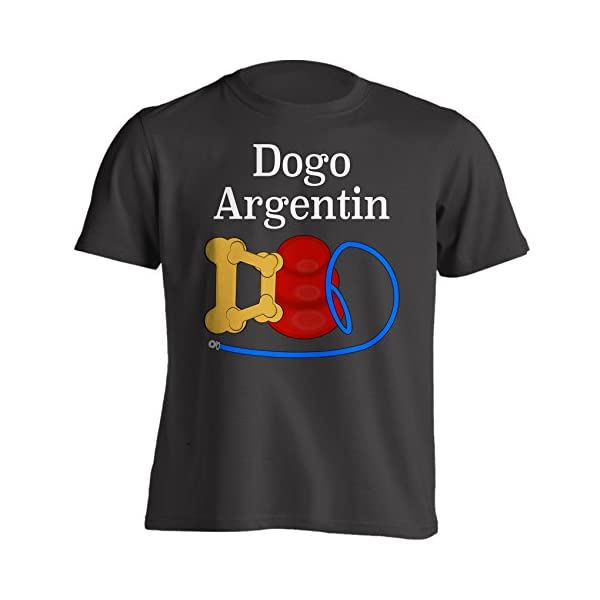 Funny Dogo Argentino Dad Dog Breed T-Shirt 1