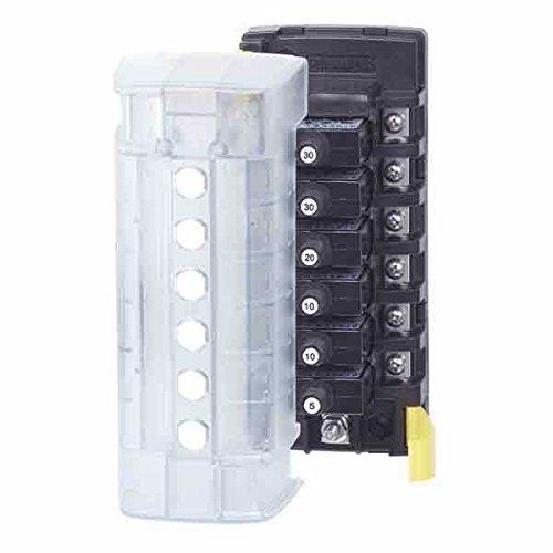 (AMRB-5052 * Blue Sea ST CLB Circuit Breaker Block - 6 Position w/Negative Bus)