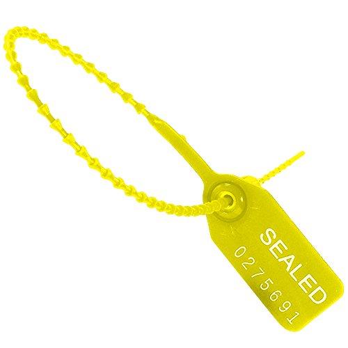 Aviditi-SE1011-Tug-Tight-Pull-Tight-Seals-15-Yellow-Pack-of-100