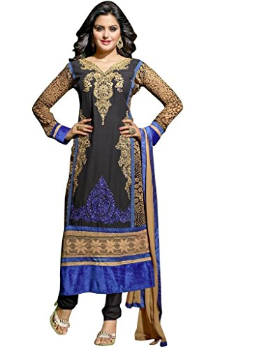 Vibes-Womens-Pure-Georgette-Straight-Fit-Un-Stitched-Salwar-Kameez
