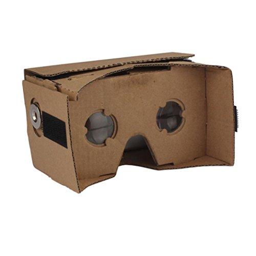 SOthread DIY Cardboard Quality 3D Glasses VR Virtual Reality Glasses For Google