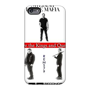 Protective Hard Phone Cover For Iphone 6 With Customized High Resolution 30 Seconds To Mars Band 3STM Skin RitaSokul
