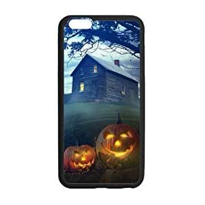 Halloween Series, Black / White Custom Snap On Case For iphone 6 (4.7 inch)