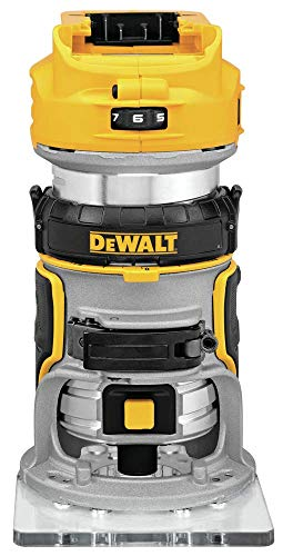 affordable DEWALT 20V Max XR Cordless Router, Brushless, Tool Only (DCW600B)