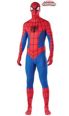 Disfraz de Segunda Piel Spiderman adulto: Amazon.es: Juguetes y juegos