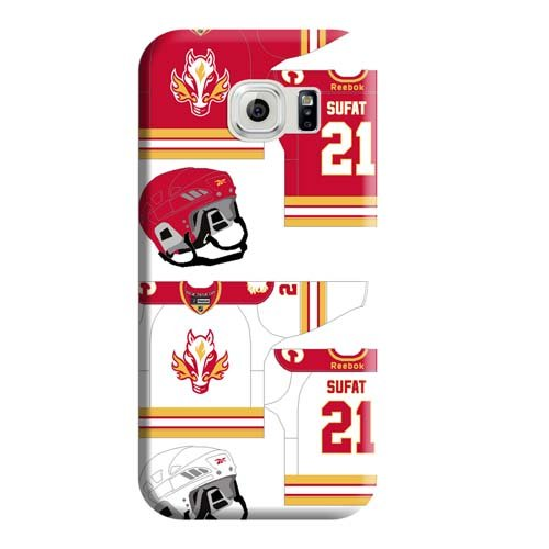 fan products of Skin Mobile Phone Shells Classic shell Snap Calgary Flames Samsung Galaxy S7