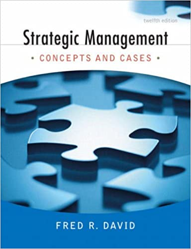 Edition strategic and 14th concepts management pdf cases