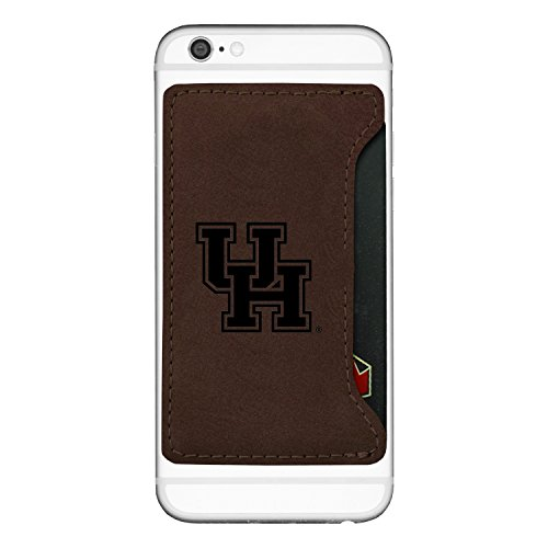 University of Houston-Cell Phone Card Holder-Brown -