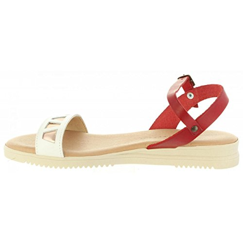 CUMBIA Women Sandals 20575 Vachetta C Rojo 008Cpa