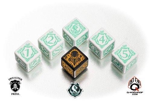 Privateer Press WARMACHINE Faction Dice - Retribution of Scyrah - Faction Dice