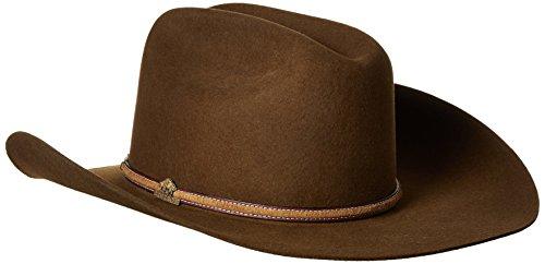 Stetson Men s Powder River 4X Buffalo Felt Cowboy Hat - Import It All b66e01e63207